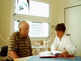 Patienten und Besucher